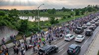 Kanada'da araçlı terör saldırısında öldürülen Müslüman aile için yürüyüş