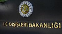 Dışişleri Bakanlığı: PKK'nın hastaneye yaptığı saldırıyı şiddetle lanetliyoruz
