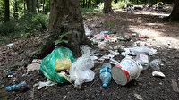 Belgrad Ormanı yine çöplüğe döndü