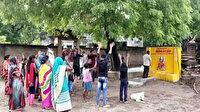 Hindistan'da koronavirüse karşı  'Korona tapınağı' inşa edildi