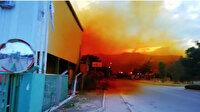 Gökyüzü turuncuya boyandı: Fabrikanın asit tankı patladı gökyüzünü asit bulutu kapladı