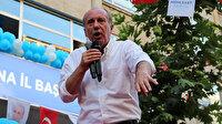 Muharrem İnce'den CHP'li Zeydan Karalar'a tepki: Afişlerimi neden indirttin?
