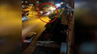 Gasbettiği kamyonetle polis otosu ve 3 araca çarptı: 2'si polis 5 yaralı