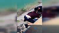 Servis şoförü sulama kanalında sürüklenen çocuğun hayatını kurtardı