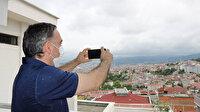 Samsun'da UFO paniği: Vatandaşlar telefonlarına sarıldı