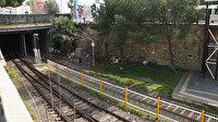 Tarihi tren garı çöplük olarak kullanılıyor