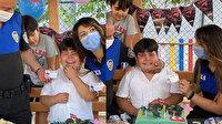 Küçük Efe'nin polis sevgisi: Doğum gününde karşısında görünce sevinçten ağladı