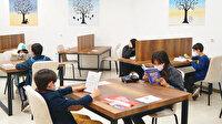 Çocuk Kütüphanesi'nde ikramlar belediyeden