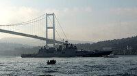 İstanbul Boğazı'nda 2 adet Rus savaş gemisi
