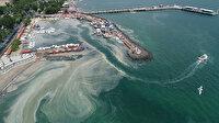 Tekirdağ kıyılarını müsilaj kapladı
