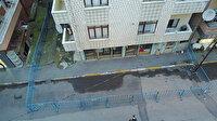 Pendik'te depremden etkilendiği öne sürülen apartman tahliye edildi