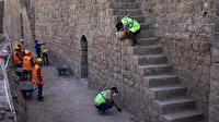 Kazı ve restorasyonda 3 burcun kapısı ortaya çıkarıldı