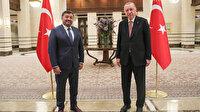 Giresun Belediye Başkanı Şenlikoğlu, Cumhurbaşkanı Recep Tayyip Erdoğan ile bir araya geldi