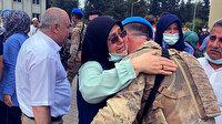 'Korkutlar' dualarla El-Bab'a uğurlandı: Gözyaşları sel oldu