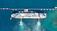 Ertuğrul Gazi gemisi bugün faaliyete başlıyor: Günlük gazın yüzde 8,2'sini karşılayacak