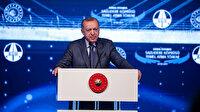 Cumhurbaşkanı Erdoğan: Kanal İstanbul'u şehrin geleceğini kurtarma projesi olarak görüyoruz