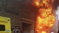 Londra'da Elephant and Castle tren istasyonunda patlama