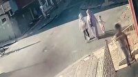 Anne ve 3 çocuğu saniyelerle kurtuldu: Güngören'de balkonun çökme anı kamerada