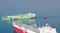 Türkiye'nin ilk doğal gaz depolama gemisi Ertuğrul Gazi'ye sıvı doğal gaz nakli başladı