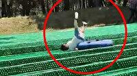 Macera parkında botun devrilmesiyle metrelerce sürüklenen çocuk ölümden döndü: Sağlıkçı diye kasiyer getirdiler