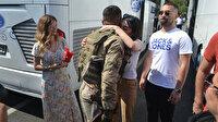 Yolunuz açık olsun: Komandolar dualarla Suriye'ye uğurlandı