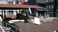 Taksim'de şoke eden soygun: Çatıdan girdikleri oteldeki muslukları bile çaldılar