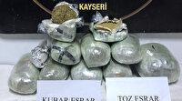 Kayseri'de kargo aracına uyuşturucu operasyonu: 11 kilogram esrar ele geçirildi