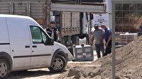 Aydın'da feci olay: 250 kiloluk seramik yüklü paletin altında kalan kamyon şoförü hayatını kaybetti