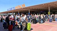 Antalya'ya her gün 15 bin Rus turist geliyor