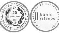 Kanal İstanbul projesi için basılan gümüş hatıra parası satışa çıktı