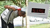 Siverek'te termometreler 51 dereceyi gösterdi: Uzmanlar 'dışarı çıkmayın' diyerek uyardı
