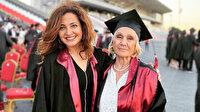 74'lük Nimet teyze tıp fakültesinden mezun oldu