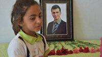 Hüzünlü karne töreni: Şehit Necmettin Yılmaz'ın öğrencileri öğretmenlerini unutmadı