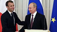 Putin ile Macron 'Karabağ-Ukrayna-Libya' konularını görüştü