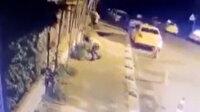 Polis baskınından kaçmak için ardı ardına ikinci kattan atladılar