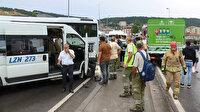 Maltepe'de beş aracın karıştığı zincirleme kaza: İki kişi yaralandı yol kapandı