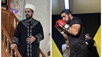 Camide imam alt katta boks antrenörü: Namazdan sonra buraya geçip spor yapıyorlar