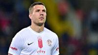 Podolski'nin yeni takımı açıklandı