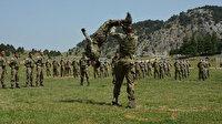 MSB'den nefes kesen görüntüler: Komandoların zorlu eğitimi