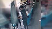 Nevşehir'de havalı tabanca ile market soygununu kasiyer kız önledi