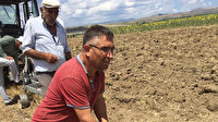 Tarlasını sürerken sert bir cisme çarpan çiftçi şoke oldu: Hemen ekiplere haber verdi