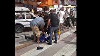 Bursa'da ilginç olay: Kendisine bıçak çeken kişiyi kelepçeledi