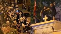 """Kadıköy'de alkollü şekilde kilise duvarında dans edenleri """"Erdoğan'ın eşkıyaları"""" diyerek servis ettiler"""