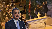 AK Parti Sözcüsü Ömer Çelik'ten Kadıköy'de kilise duvarının üstünde dans edilmesine tepki