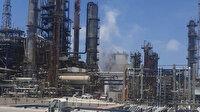 İşgalci İsrail'e ait petrol rafinerisinde patlama