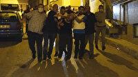 Bursa'da hareketli gece: Polis aracına ateş açıp kılıçla direndi