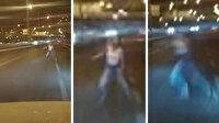 Genç kıza çarptı kaçtı serbest kaldı: Kaza anında canlı yayın yapıyormuş