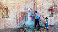 Böyle vandallık görülmedi: Tarihi medresenin duvarlarına kıydılar