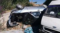 Malatya'da zincirleme kaza: 7'si çocuk 12 yaralı