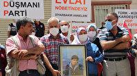 HDP önündeki evlat nöbetine bir aile daha katıldı sayı 233 oldu: 'Oğlum Türk askerlerine teslim olsun'